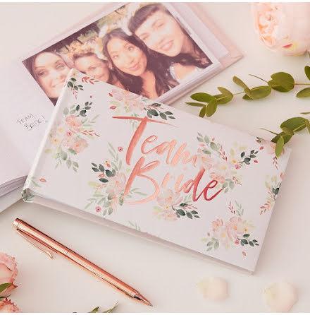 Fotoalbum Team Bride - Floral Hen