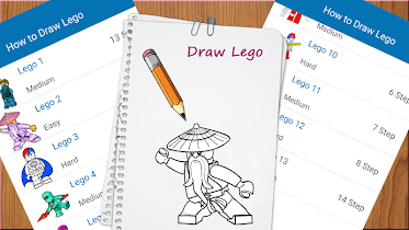 How to Draw lego - screenshot thumbnail 02