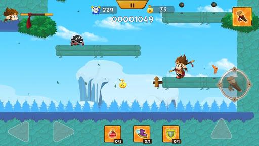 Télécharger Gratuit Mighty Monk Fighter - The Jungle Adventure APK MOD (Astuce) screenshots 2
