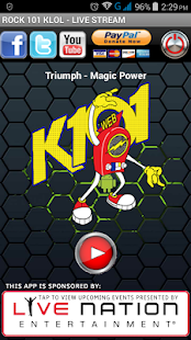 Rock 101 KLOL- screenshot thumbnail