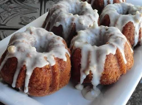 """Nutty Buddy Bundt Cake""""This cake is nutty, moist and delicious. It has..."""
