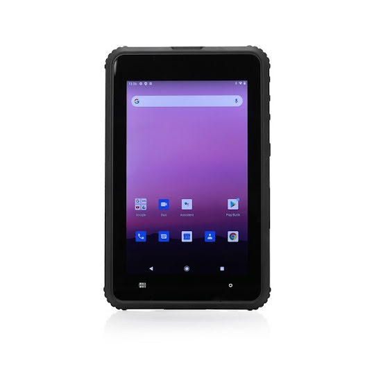 """ToughTab 8 Android 4G Handstrap/Barcode/NFC Scanner 8"""" 64GB Svart"""