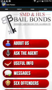 HLS/SMD Bail Bonds- screenshot thumbnail