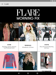 FLARE Magazine- screenshot thumbnail