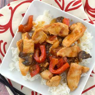Szechuan Chicken.