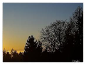 Photo: Sonnenaufgang / Sunrise 17.01.2011 08:14:02  PENTAX K20D ISO 100 Belichtung 1/500 Sek. Blende f/8.0 Brennweite 50mm  Datum und Uhrzeit (Original) 2011:01:17 08:14:02 Urheberrecht (C) Forstmeier 2011