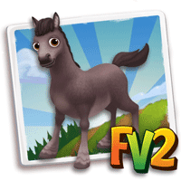 farmville 2 animal - grulla icelandic horse