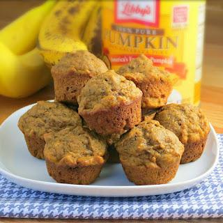 Pumpkin Banana Muffins.