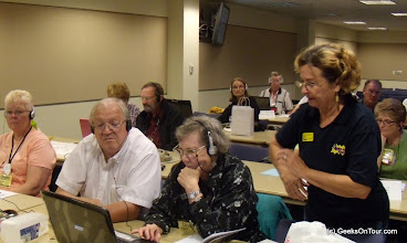 Photo: One of our hands-on computer classes