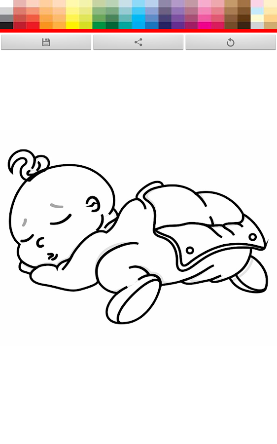 baby hazel coloring pages - photo#5