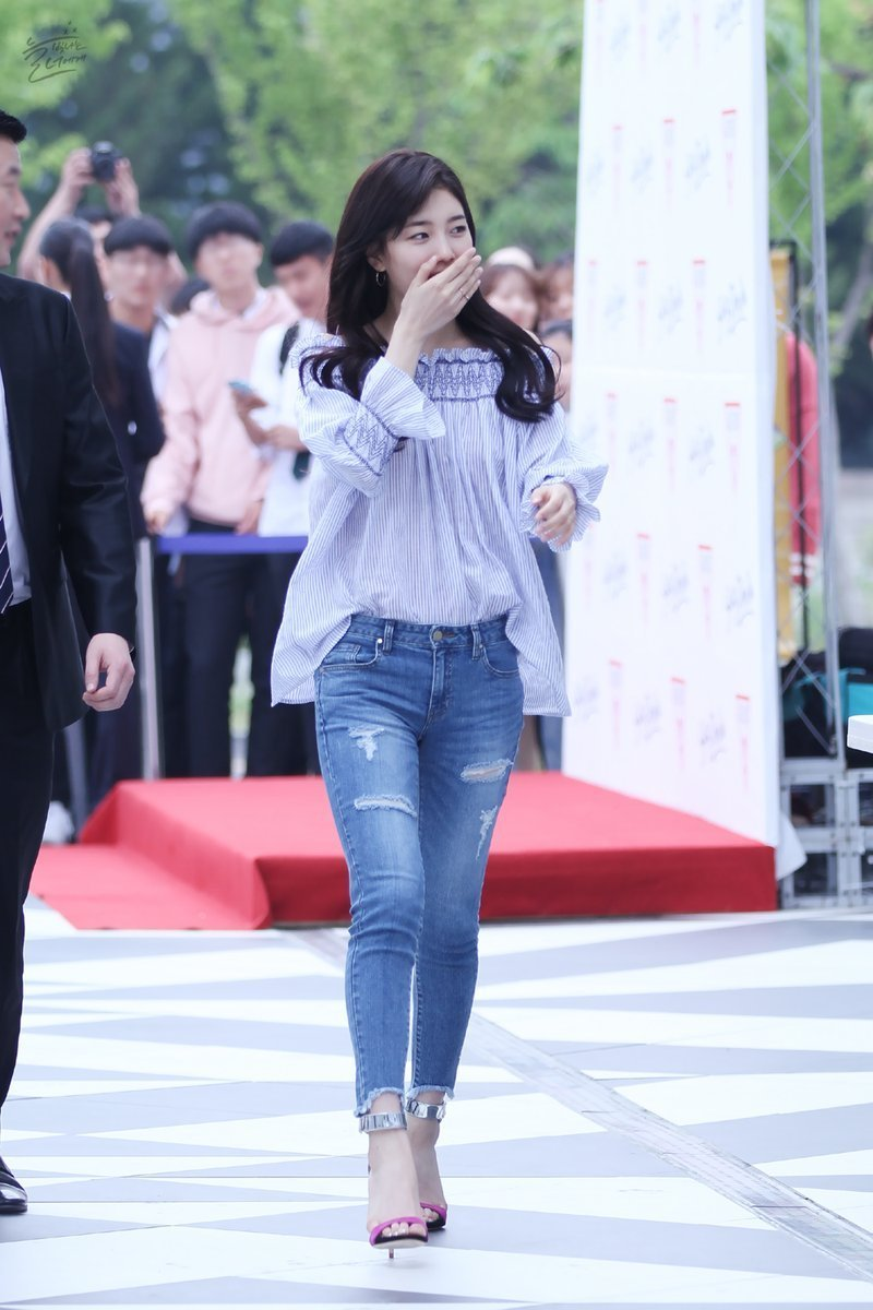 korea-korean-kpop-idol-girl-group-band-miss-a-suzys-spring-outfit-for-guess-event-blue-off-the-shoulder-top-denim-heels-fashion-style-girls-women-kpopstuff