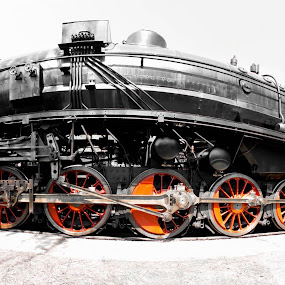 Masinkaaaaa by Daniela Maskova - Transportation Trains ( steamtrain, czech republic )