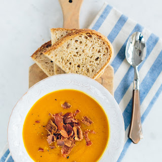 Curried Butternut Squash & Carrot Soup
