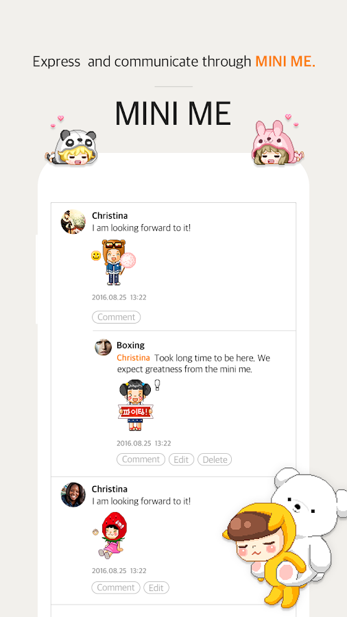 Cyworld- screenshot