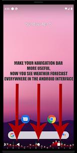 Navbar Weather: weather forecast on navigation bar 1