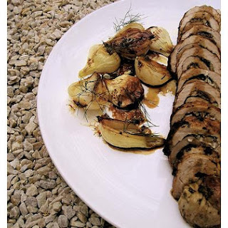 Pork Tenderloin With Mushrooms.