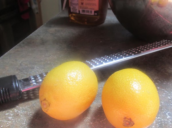 Then add lemon or lime juice, zest and extract, optional green food color if...