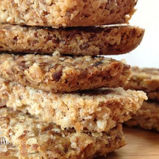 Crunchy Barley and Oat Bars.