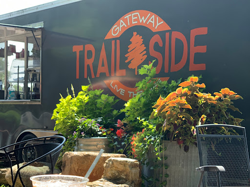 Gateway Trailside is a lovely bike stop with tasty food and refreshing, innovative beverages