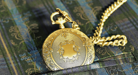 Full Hunter Pocket Watch.