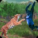 Wild Tiger Vs BigFoot Gorilla icon