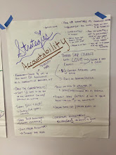 Photo: 4.16.15 BMC - Accountability strategies we came up with for sexualized, gendered & police harassment.