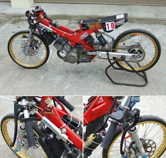 Design Motorcycle Drag Racing - náhled