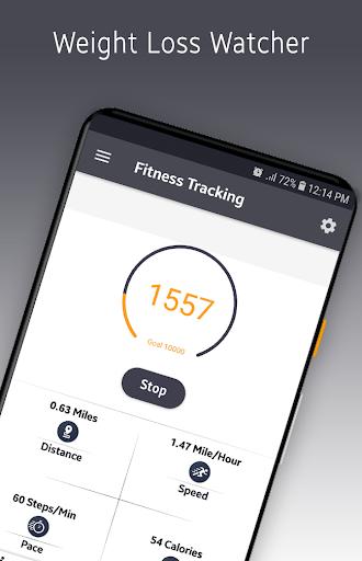 Step Counter 2019- FREE Pedometer & Weight Loss 1.0.0 screenshots 1