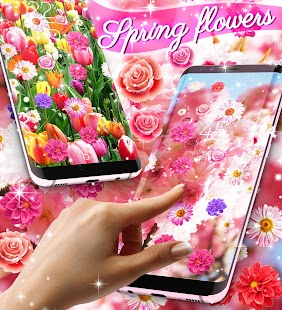 Spring live wallpapers - náhled