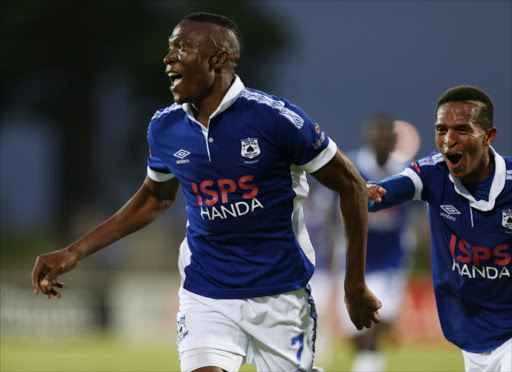 Ndoro vows to give best for bucs tendai ndoro of black aces with betheul tukane of black aces picture credit gallo negle Images
