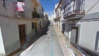 Calle Las Maravillas de Cuevas del Almanzora.