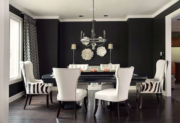 Delicieux Embrace This Bold Look With Black Walls And Flooring