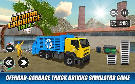 Offroad Garbage Truck: Dump Truck Driving Games apktram screenshots 13