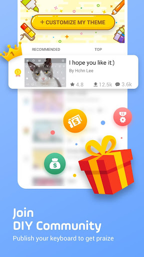 Facemoji Emoji Keyboard:DIY, Emoji, Keyboard Theme  screenshots 8