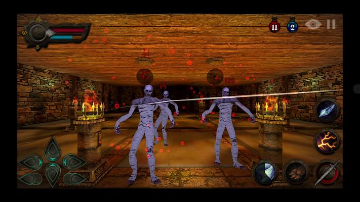 Dungeons of Rune- screenshot