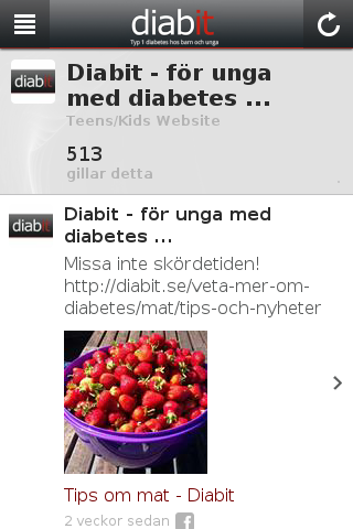Diabit- screenshot