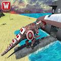 Underwater Robot Dino Transporter Submarine Game