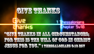 Photo: GIVE THANKS ''Give Thanks in all circumstances; for this is the will of God in Christ Jesus for you.'' 1 Thessalonians 5.18 ESV; http://www.biblegateway.com/passage/?search=1+Thessalonians+5&version=ESV