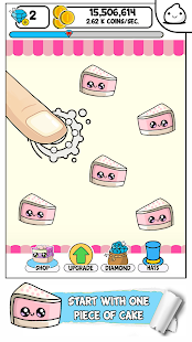 Cakes Evolution - Idle Cute Clicker Game Kawaii - náhled