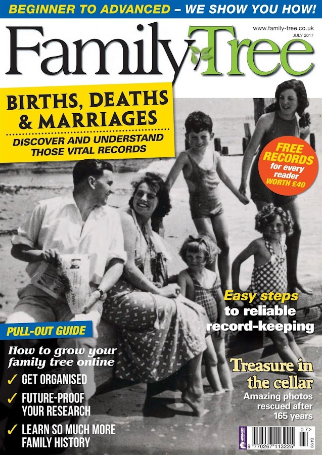 Family Tree Magazine- screenshot