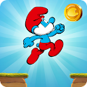 Os Smurfs Epic Run icon
