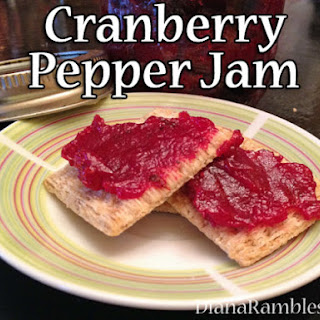 Cranberry Jam with Jalapenos.