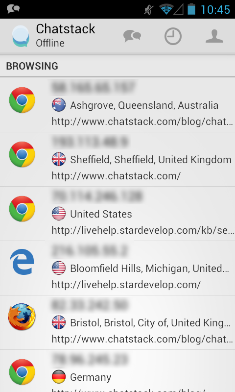 Chatstack - screenshot