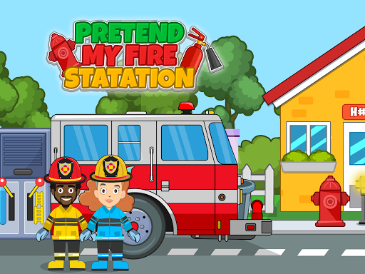 Pretend my Fire Station: Town Firefighter Life 1.2 screenshots 1