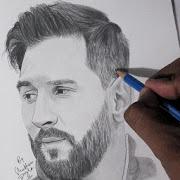Draw Lionel Messi 3D