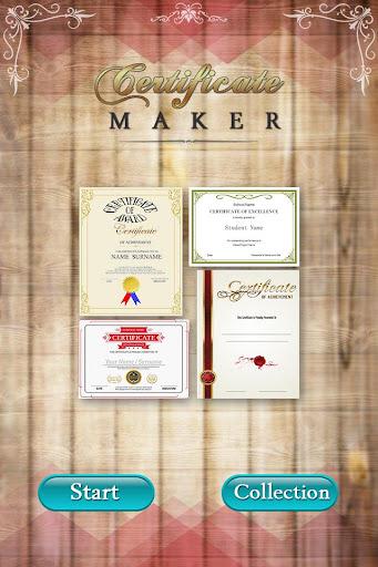 Certificate Maker 1.3 screenshots 1