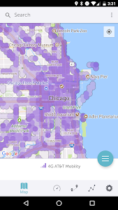 Sensorly: 4G Coverage and Speedtests 4.1.5