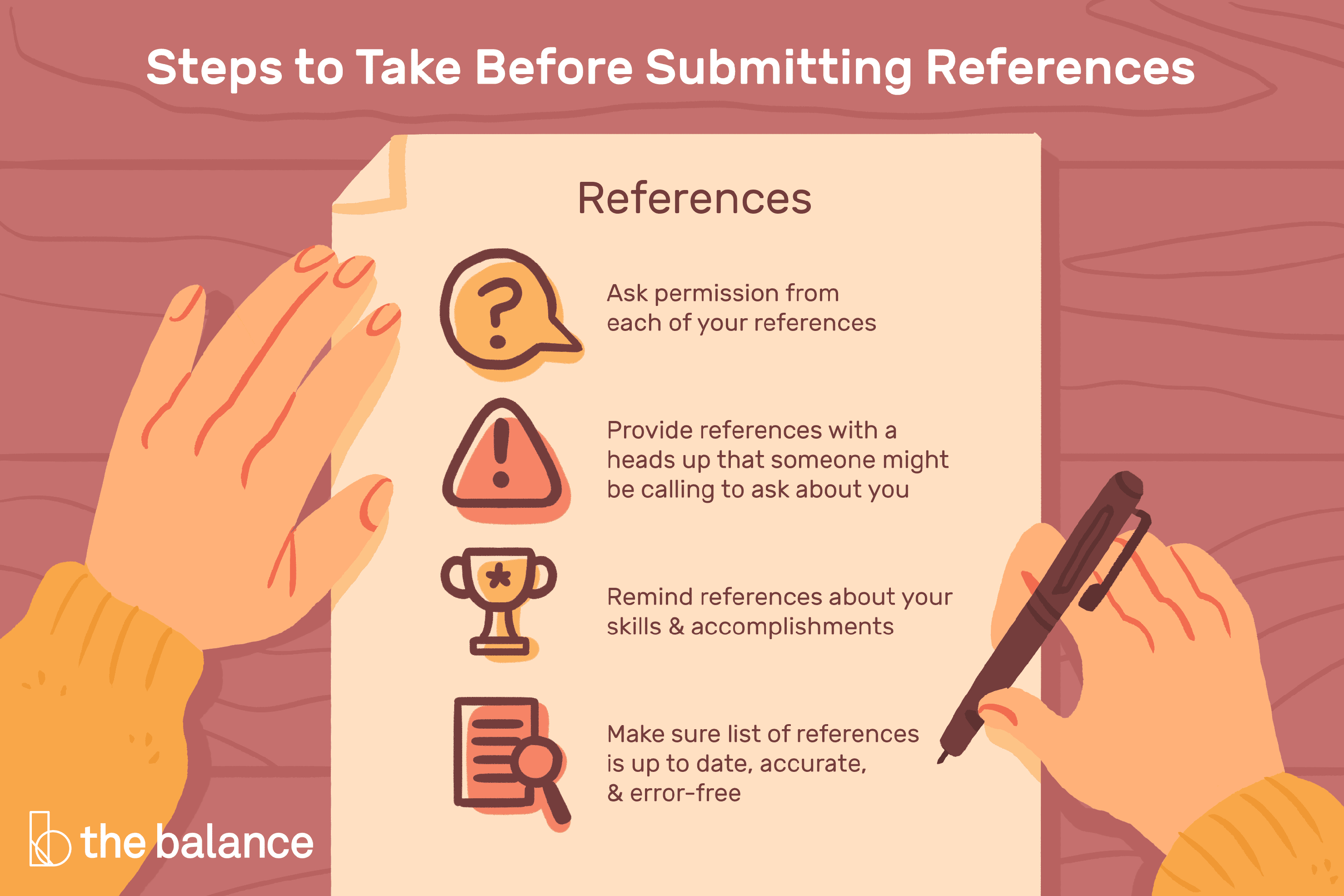 How to Format a List of Professional References