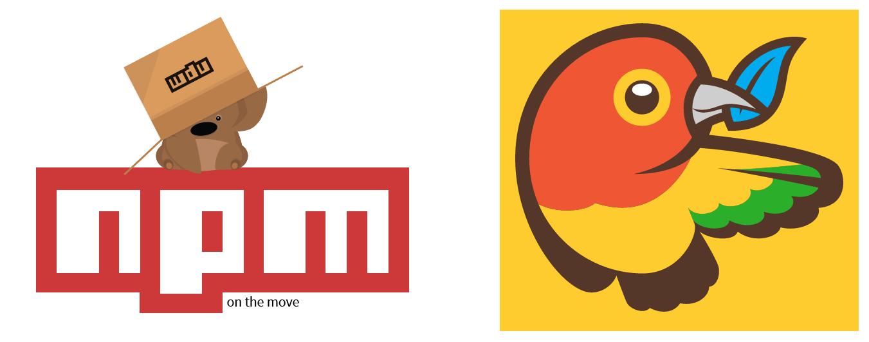 Logo NPM e Bower