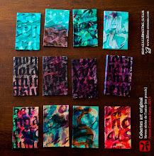 Photo: Cobertes úniques originals de Ferran Cerdans Serra - Llibres Artesans · Fem els llibres del futur: relats breus, aforismes i poemes escrits a mà